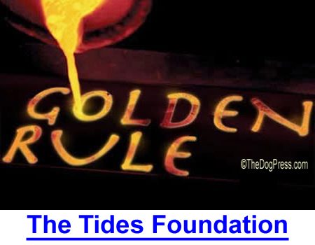 TIDES FOUNDATION: The Golden Rule, Those Who Have the Gold Rule, Where Animal Rights Gets Funding.