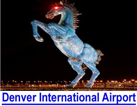 "DENVER INTERNATIONAL AIRPORT: VIDEO shows ""artwork"" of impending religious war."