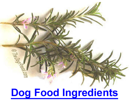 DOG FOOD INGREDIENTS: What's In Pet Food? Check label for additives that can cause chronic problems.