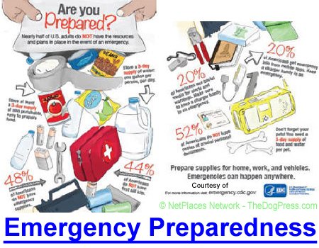 EMERGENCY PREPAREDNESS ALERT: Senator says don't depend on government to protect you.