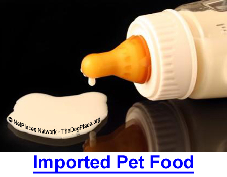 IMPORTED PET FOOD; The FDA can't stop deadly ingredients in human or dog food.