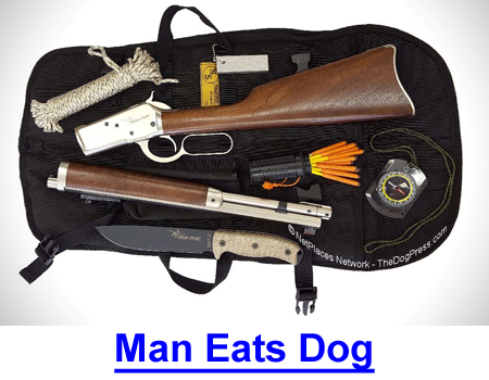 MAN EATS DOG: I know people still eat dogs but I'm repelled by this gruesome story.