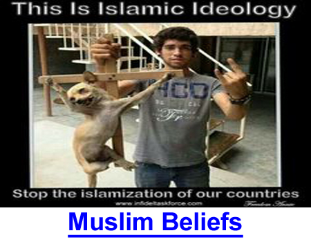 MUSLIM BELIEFS vs DOG OWNERS: Traditional Islam threatens dogs more than Animal Rights!