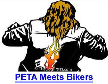 """PETA MEETS BIKERS: 3 Animal Rights Activists missing after """"War On Leather"""""""