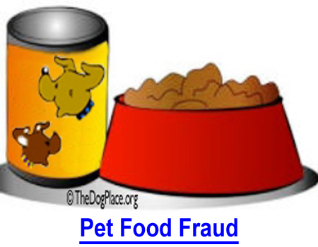 PET FOOD FRAUD: Condemned food is a multi-billion dollar dog food fraud that could kill your pet.