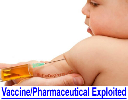 VACCINE AND PHARMACEUTICAL EXPLOITATION: Judge overturns law to force baby shots, what about mandated puppy shots?