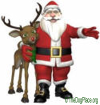 SANTA DOESN'T SUPPORT ANIMAL RIGHTS!
