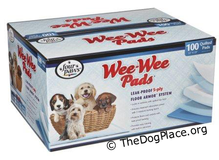 to help house train you must have a good supply of pee-pee pads