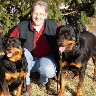 rottweiler family dog